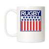 Rugby Stars and Stripes Mug