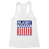 Rugby Stars and Stripes Women's Racerback Tank