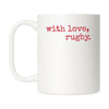 With Love Rugby Mug