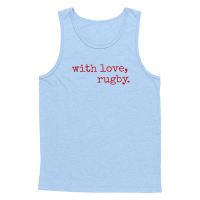 With Love Rugby Tank Top