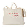 With Love Rugby Tote Bag