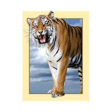 Load image into Gallery viewer, Tiger 35x45cm(canvas) partial round drill diamond painting