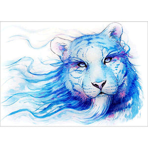 Animal 30x40cm(canvas) full round drill diamond painting