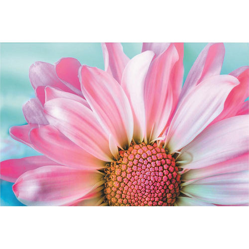 Pink Flower 40x30cm(canvas) full round drill diamond painting