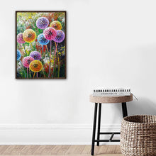 Load image into Gallery viewer, Dandelion 30x40cm(canvas) full round drill diamond painting