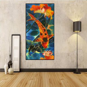 Big Fish 85x45cm(canvas) full round drill diamond painting