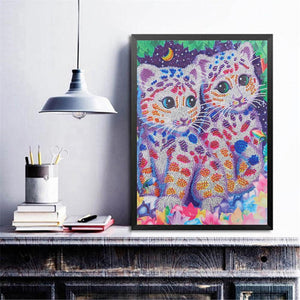 Little Tiger 40x50cm(canvas) beautiful special shaped drill diamond painting