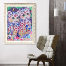 Load image into Gallery viewer, Little Tiger 40x50cm(canvas) beautiful special shaped drill diamond painting
