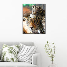 Load image into Gallery viewer, Animal Tiger 30x40cm(canvas) full round drill diamond painting