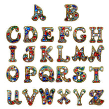 Load image into Gallery viewer, Letters A to Z 5D DIY Diamond Keychain