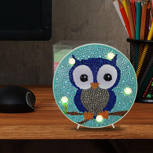 Load image into Gallery viewer, DIY Diamond Painting Light Box Cross Stitch Embroidery Full Drill LED Lamp
