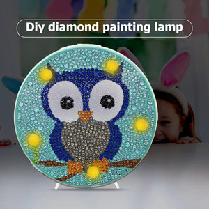 DIY Diamond Painting Light Box Cross Stitch Embroidery Full Drill LED Lamp
