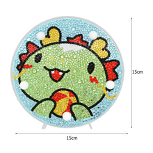 Load image into Gallery viewer, DIY LED Diamond Painting Full Drill Cartoon Animal Home Decor Night Lamp