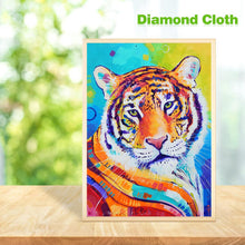 Load image into Gallery viewer, Tiger 30x40cm(canvas) full round drill diamond painting