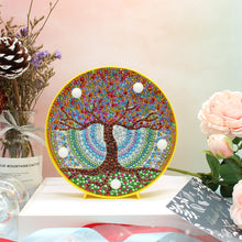 Load image into Gallery viewer, DIY Full Drill Diamond Painting Scenery Embroidery Special Shape LED Light