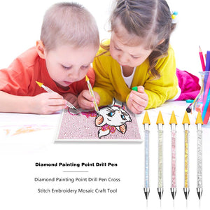 Diamond Painting Point Drill Pen Cross Stitch Embroidery Mosaic Craft Tool