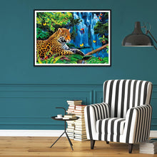 Load image into Gallery viewer, Tiger 40x30cm(canvas) full round drill diamond painting