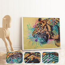 Load image into Gallery viewer, Animal 30x40cm(canvas) beautiful special shaped drill diamond painting