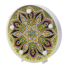 Load image into Gallery viewer, DIY Special Full Drill LED Diamond Painting Light Mandala Cross Stitch Lamp
