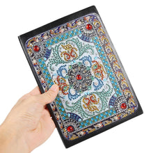 Load image into Gallery viewer, DIY Mandala Special Shaped Diamond Painting 50 Pages A5 Notepad Notebook