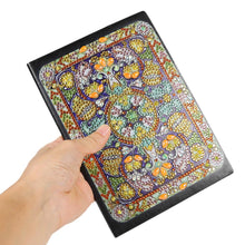 Load image into Gallery viewer, DIY Mandala Special Shaped Diamond Painting 50 Pages A5 Notebook Diary Book