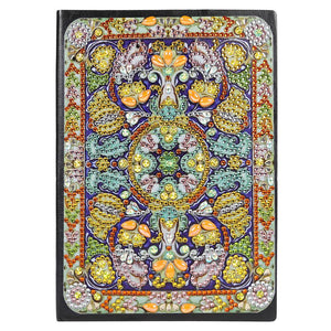DIY Mandala Special Shaped Diamond Painting 50 Pages A5 Notebook Diary Book