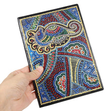 Load image into Gallery viewer, DIY Bird Special Shaped Diamond Painting 50 Pages A5 Notebook Sketchbook