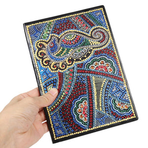 DIY Bird Special Shaped Diamond Painting 50 Pages A5 Notebook Sketchbook