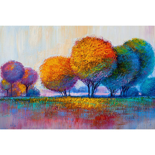 Tree Oil 30x40cm(canvas) full round drill diamond painting