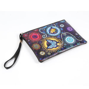 DIY Butterfly Special Shaped Diamond Painting Wristlet Clutch Women Wallet