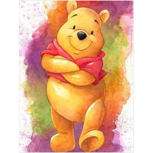 Winnie the Pooh 40x30cm(canvas) full round drill diamond painting