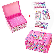 Load image into Gallery viewer, DIY Special Shaped Diamond Painting Butterfly Pattern Jewelry Storage Box