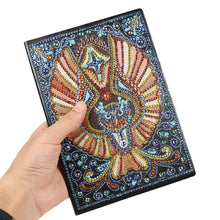 Load image into Gallery viewer, DIY Owl Special Shaped Diamond Painting 50 Page A5 Sketchbook Painting Book