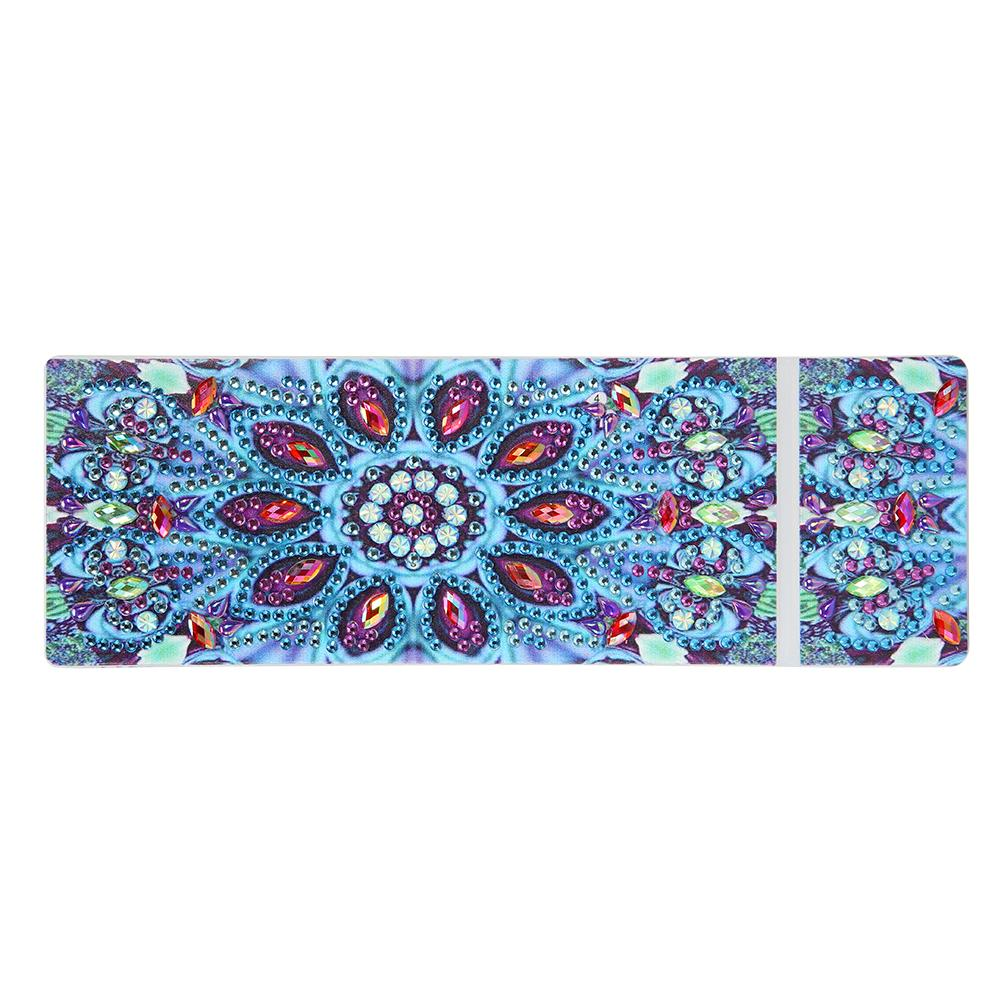 DIY Mandala Special Shaped Diamond Painting Pencil Case Stationery Box Gift