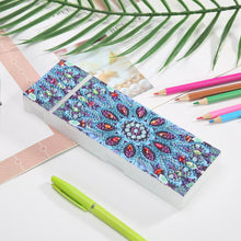 Load image into Gallery viewer, DIY Mandala Special Shaped Diamond Painting Pencil Case Stationery Box Gift