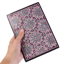 Load image into Gallery viewer, DIY Mandala Special Shaped Diamond Painting 50 Pages Sketchbook A5 Notebook