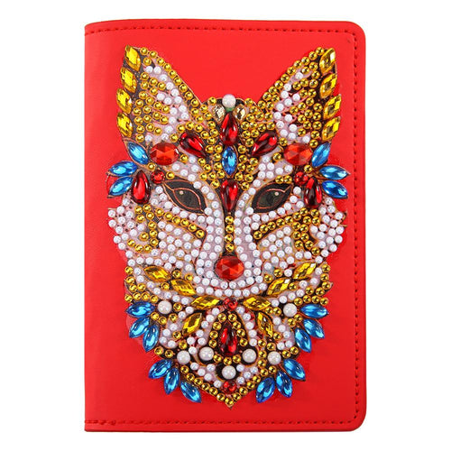 DIY Special Shaped Diamond Painting Travel Passport Protective Cover Crafts