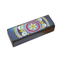 Load image into Gallery viewer, DIY Diamond Painting Eye Glasses Case Travel Leather Sunglasses Storage Box