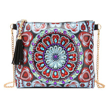Load image into Gallery viewer, DIY Special Shaped Diamond Painting Leather Crossbody Bags Chain Clutch