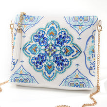 Load image into Gallery viewer, DIY Special Shaped Diamond Painting Leather Crossbody Bag Chain Makeup Bags