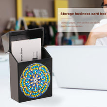 Load image into Gallery viewer, DIY Diamond Business Card Storage Box Creative ID Card Bus Card Holder Gift