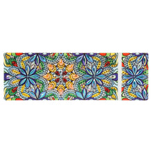 Load image into Gallery viewer, DIY Mandala Special Shaped Diamond Painting 2 Grids Students Pencil Case