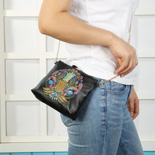 Load image into Gallery viewer, DIY Pineapple Special Shaped Diamond Painting Leather Chain Crossbody Bags