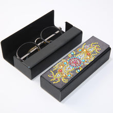 Load image into Gallery viewer, DIY Diamond Painting Leather Sunglasses Box Portable Glasses Storage Case