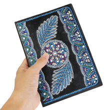 Load image into Gallery viewer, DIY Wing Special Shaped Diamond Painting 50 Pages A5 Sketchbook Notebook
