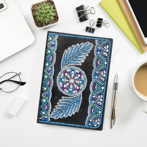 DIY Wing Special Shaped Diamond Painting 50 Pages A5 Sketchbook Notebook