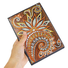 Load image into Gallery viewer, DIY Mandala Special Shaped Diamond Painting 50 Pages A5 Sketchbook Notepad