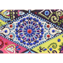 Load image into Gallery viewer, DIY Mandala Special Shaped Diamond Painting Students Pencil Storage Box