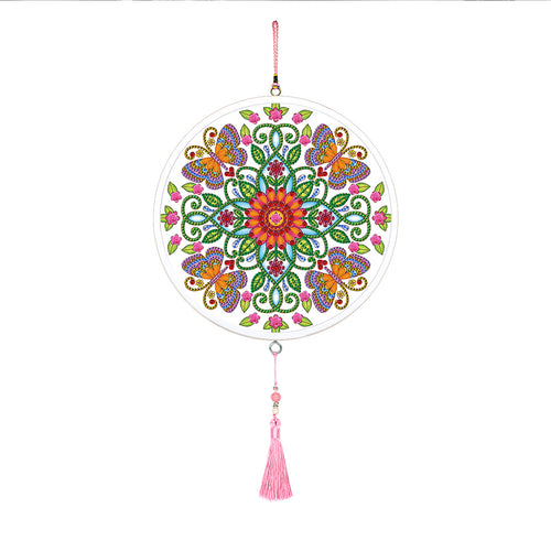 Mandala Butterfly Pendants Special Shape DIY Diamond Painting Home Mural