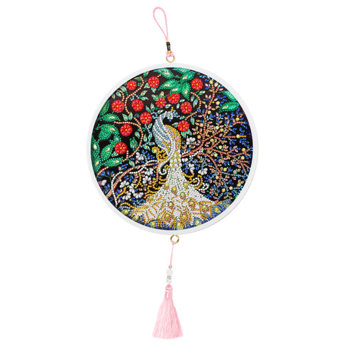 DIY Diamond Painting Tassel Peafowl Wall Picture Cross Stitch Embroidery